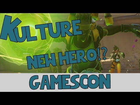 Overwatch New Hero and Maps at GamesCon?!