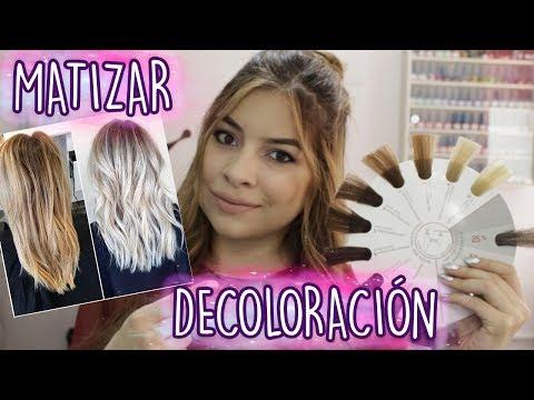 MATIZAR UNA DECOLORACIÓN   MadMoon Peluquería