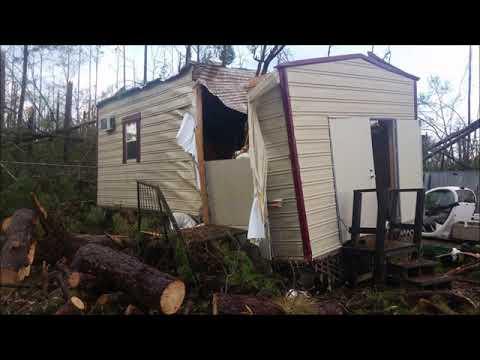 Florida Caverns State Park Hurricane Damage