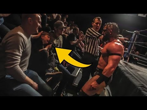 PAC Makes Kid Cry By Being Awesome Heel, WrestleMania 35 Star Injured? thumbnail