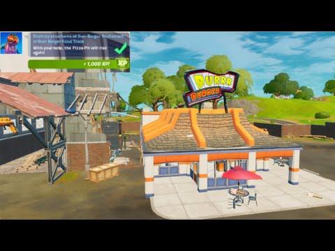 Destroy Structures at Durr Burger Restaurant or Durr Burger Food Truck Guide – Fortnite