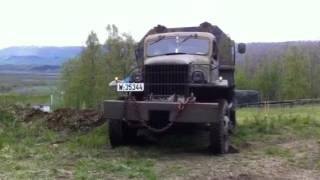 GMC cckw dump truck offroad