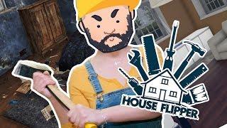 Przypadkowe #123: House Flipper - Tu Wcale Nie Jest Ciasno! || Nasz Nowy Dom