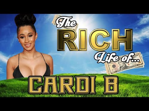 CARDI B - The RICH LIFE - Net Worth 2017 - FORBES ( Car, Hotels, Bling )