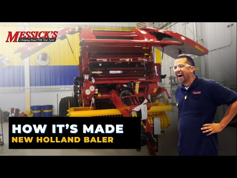 How A Hay Baler Is Made | New Holland Hay Tools Plant Tour
