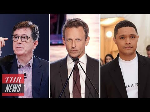 Late-Night Hosts React