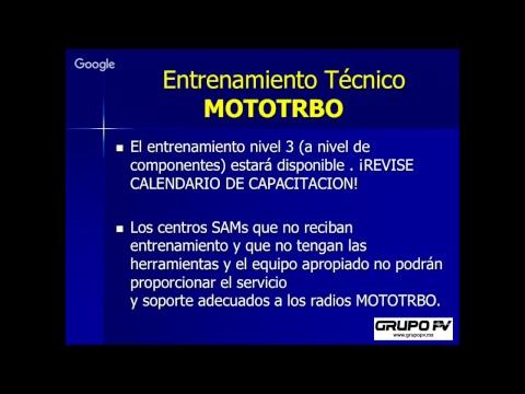 MOTOTRBO y Presentación Digital