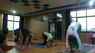 Йога, мой первый урок в качестве учителя