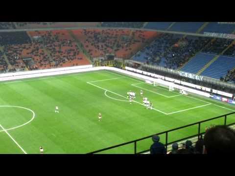 Jeremy Menez goal AC Milan-Cagliari 3-1 @San Siro