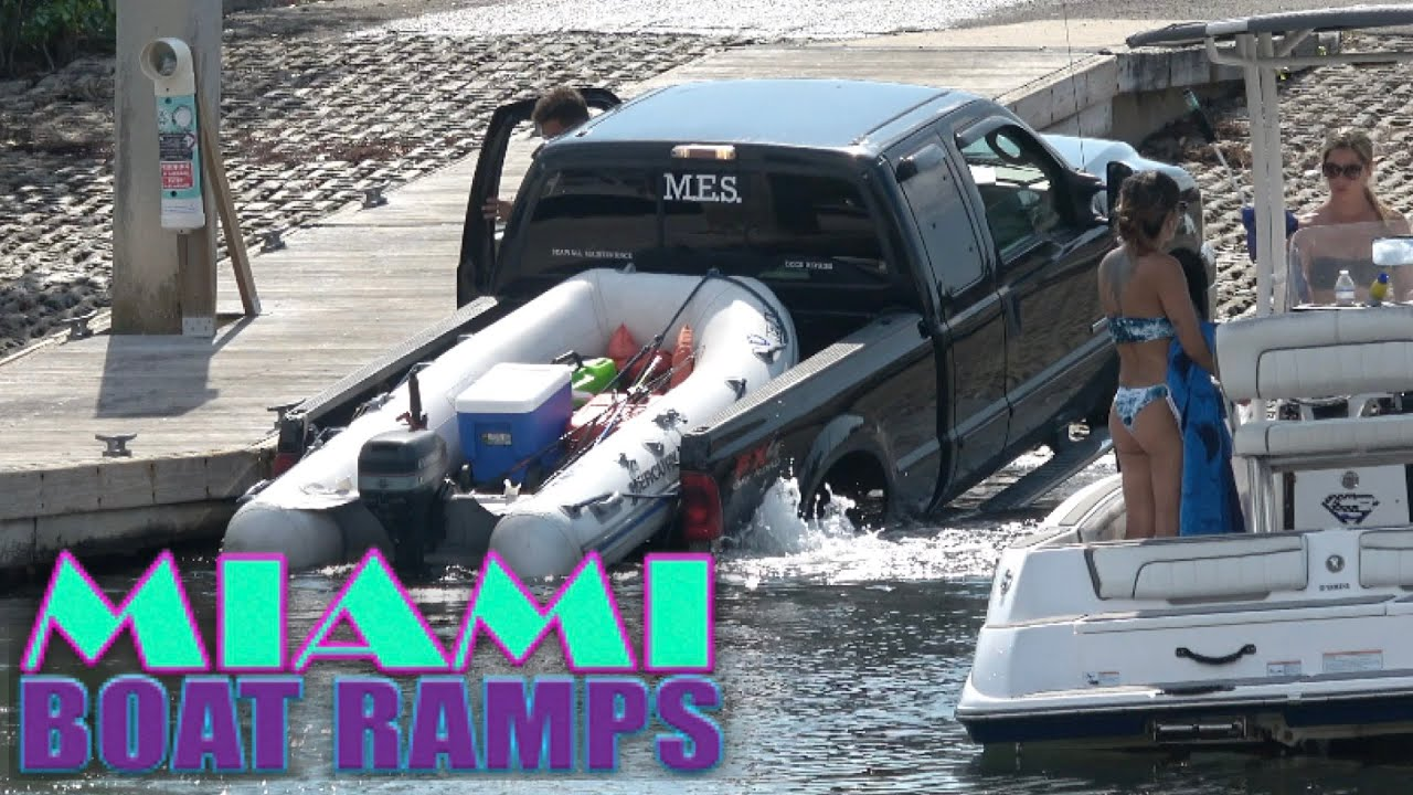 How to Ruin a Truck!!   Miami Boat Ramps   Boynton Beach