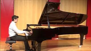 Marco Sanna plays Chopin's Barcarolle op.60