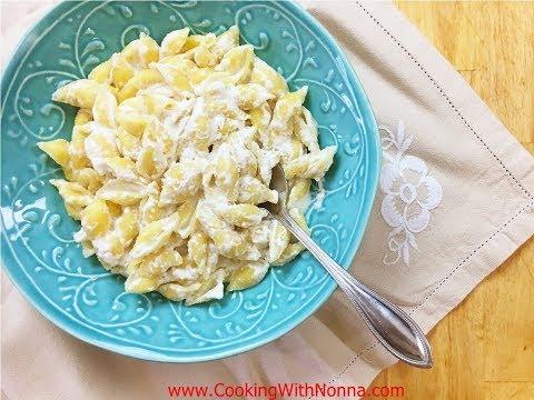 Pasta E Ricotta - Rossella's Cooking With Nonna