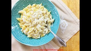 Pasta e Ricotta - Rossella's Cooking with Nonna