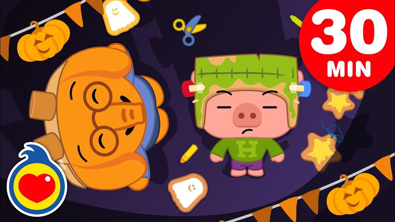 🎃 Halloween 👻 Dias Das Bruxas | E Mais Episódios de Um Herói do Coração (30 Min) | Desenhos Animados