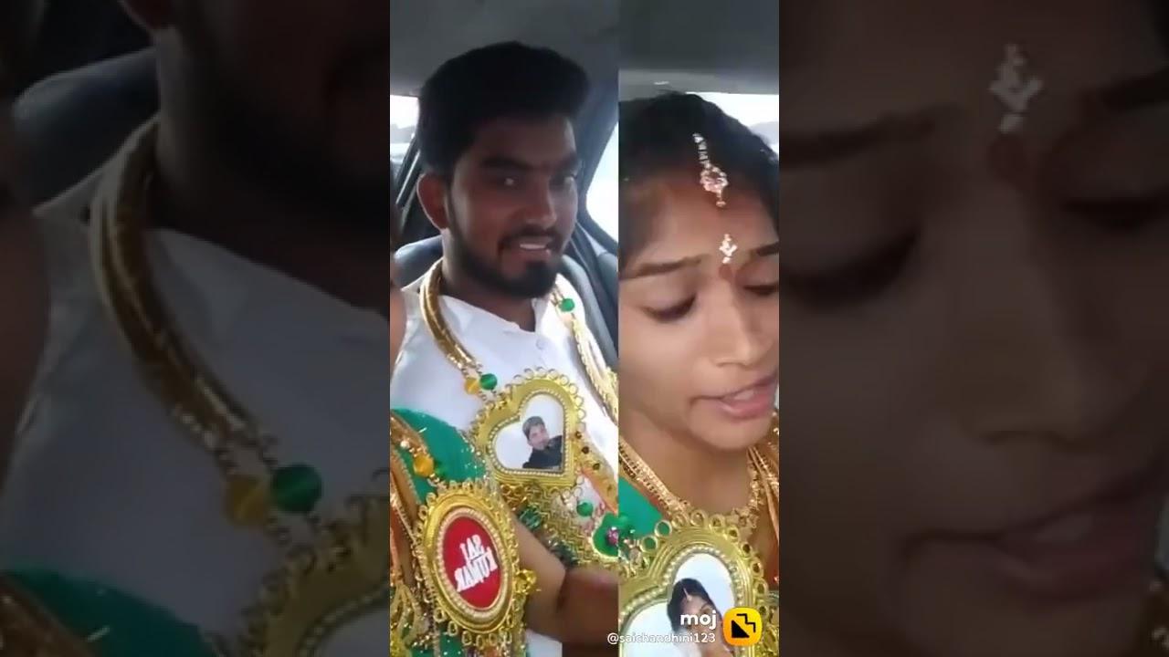 Saichandini tiktok videos popular videos marriage videos(3)