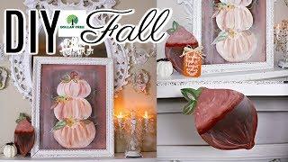 Download Diy Dollar Tree Fall Decor Crafts 2019 Pumpkin