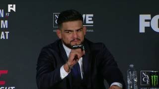 UFC Fight Night Long Island: Kelvin Gastelum on Dropping Weidman - If I Only Had '30 More Seconds'