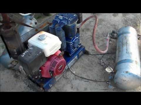 How It Works :- Petrol Compressor Unloader/Throttle Down