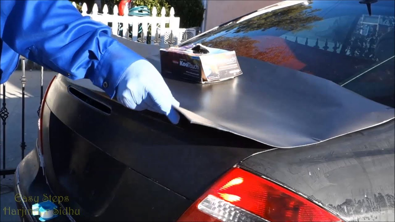 how to install vinyl car wrap on bad paint job junk