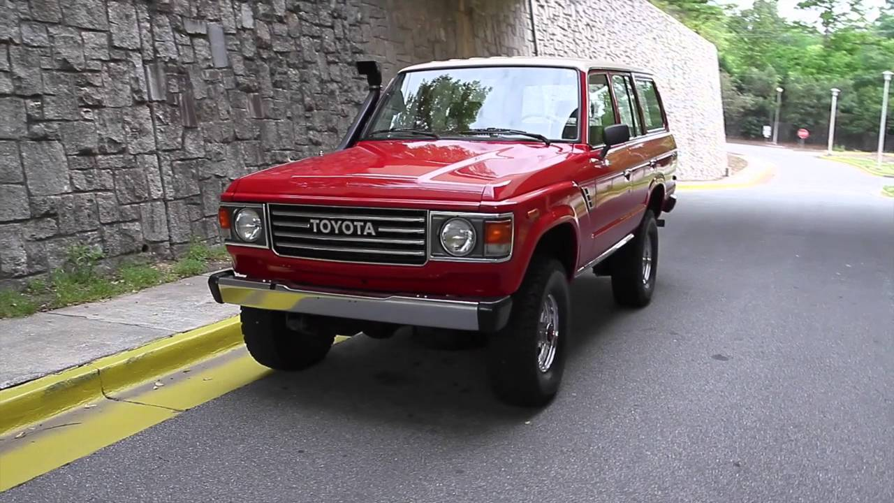 1982 Toyota Land Cruiser Fj60 For Sale Youtube