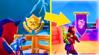 SECRET BANNER WEEK 6 SEASON 7 LOCATION! - Fortnite Battle Royale– WEEK 6 SECRET BATTLE STAR REPLACED