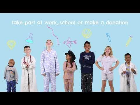 Support little people with BIG dreams this National Pyjama Day 2021
