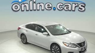 C97817TA Used 2017 Nissan Altima 2.5 FWD 4D Sedan Silver Test Drive, Review, For Sale