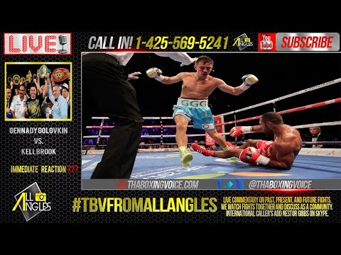 Gennady Golovkin vs. Kell Brook Immediate Reactions and Live Calls