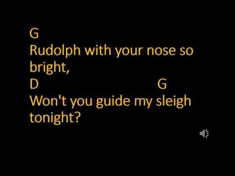 Christmas Ukulele Mashup Karaoke and Lyrics