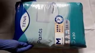 подгузники Tena Flex Plus M обзор