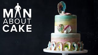 This Cake is Your OYSTER (Shucking Awesome Beach Wedding Cake) | SEASON 5 FINALE Man About Cake thumbnail