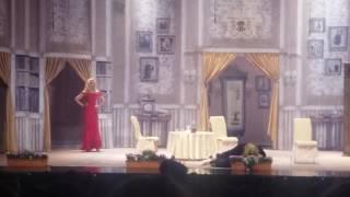Павел Прилучный и Агата Муцениеце в г.Рига со спектаклем