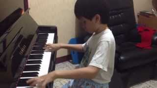 Blind and Autistic Young Pianist - Michael Anthony - The Flight of Bumblebee