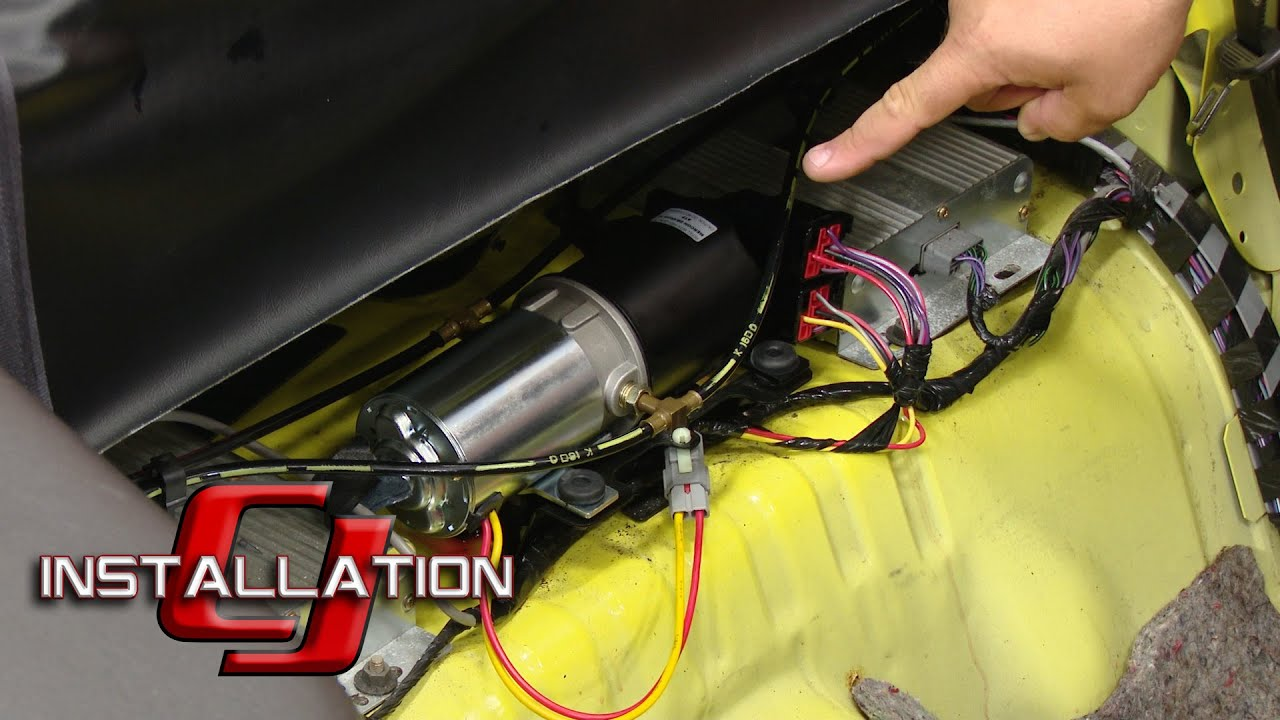 Mustang Convertible Top Hydraulic Motor 19942004 Installation  YouTube