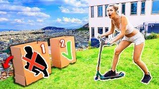 Schubse NICHT die FALSCHE BOX vom Berg! Simon vs Enisa