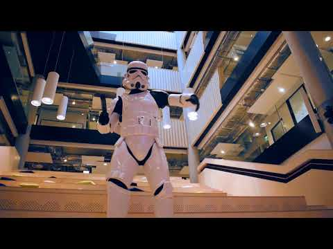 Robot Networks having fun with Star Wars
