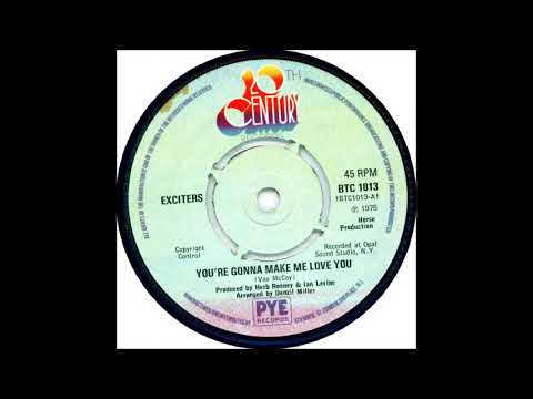 The Exciters  -  Your gonna make me love you
