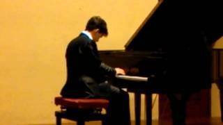 Stefano Ferlaino plays Schumann Carnevale di Vienna op 26 Allegro e Intermezzo