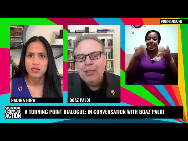A Turning Point Dialogue: In Conversation with Boaz Paldi (French)