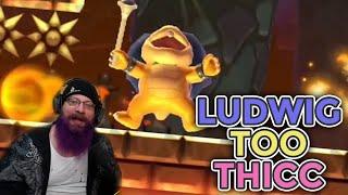 LUDWIG TOO THICC! | Super Mario Maker 2 - Expert No Skip Challenge with Oshikorosu [21]
