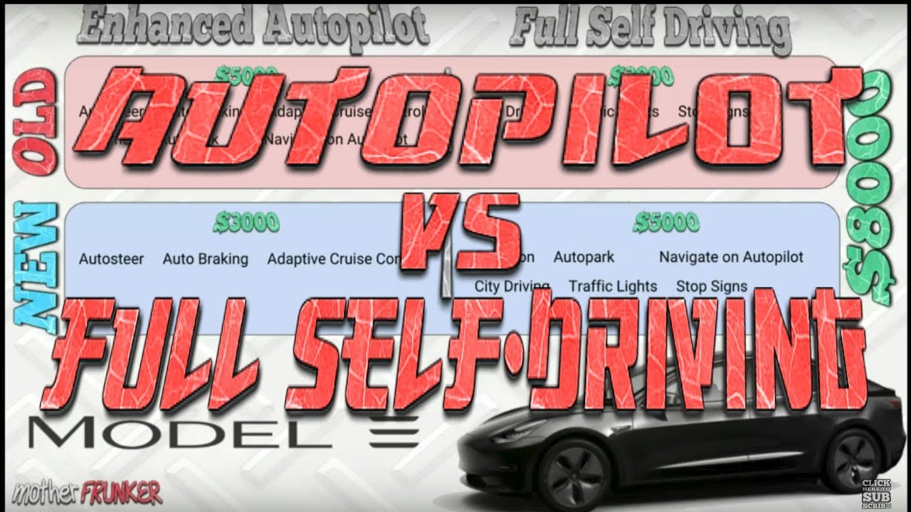 Tesla: (Enhanced) Autopilot vs. Full Self-Driving | What Changed!