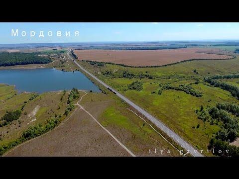 Мордовия. По пути в Саранск. Необъятные просторы Мордовии с высоты.