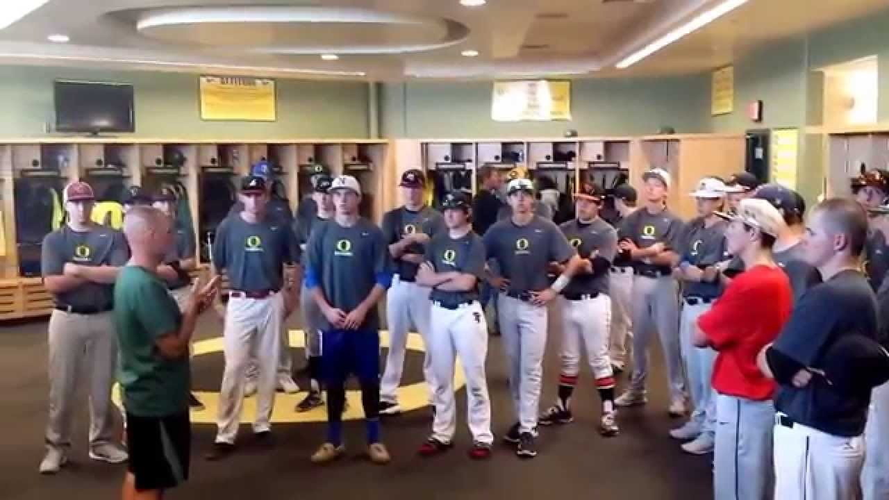 University Of Oregon Baseball Locker Room