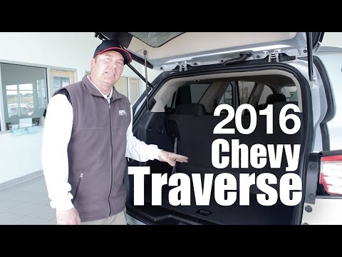 2016 Chevy Traverse Review