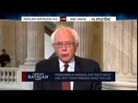Bernie Sanders on The Dylan Ratigan Show