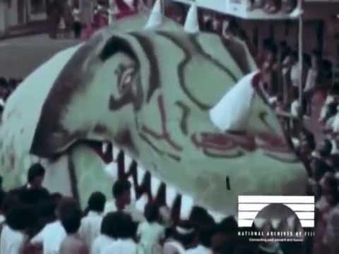 1978 Hibiscus Festival in Fiji