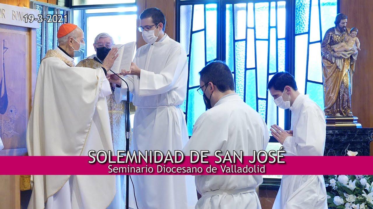 Celebración de la festividad de San José