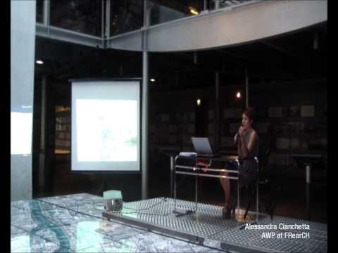Alessandra Cianchetta, lecture on La Defense Strategic Master plan