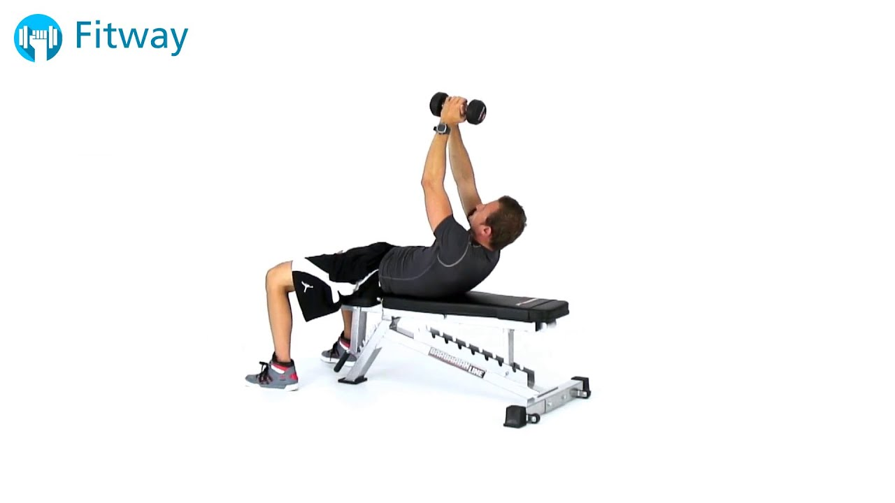 Abs Bench Workout Part - 34: How To Do: Dumbbell Crunch - Flat Bench | Ab Workout Exercise