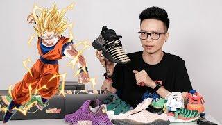Có đủ collection adidas x Dragon Ball Z mà vẫn không gọi được rồng thần 🐉🐉🐉 :(